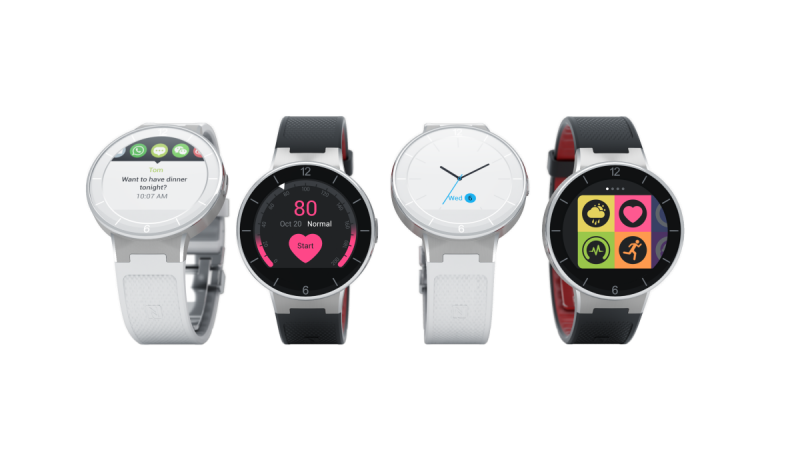 Alcatel OneTouch Launches its Smartwatch Range in India