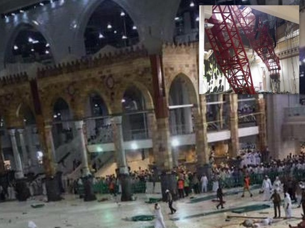 Mecca Grand Mosque Crane Accident