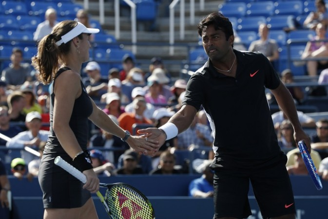 Martina Hingis Leander Paes US Open 2015 Final