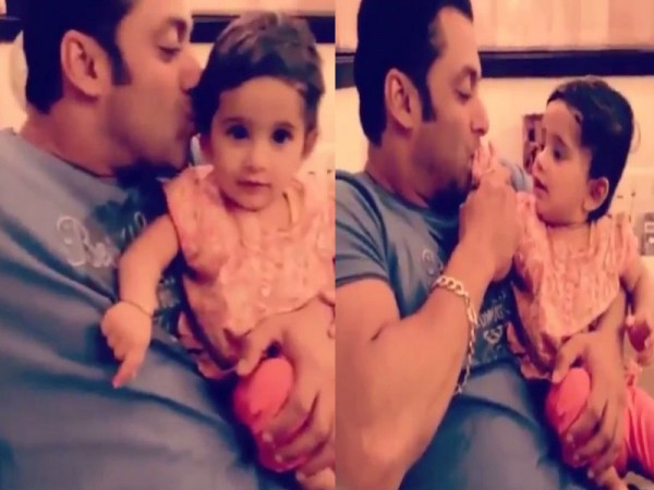 Salman Khan With Kid