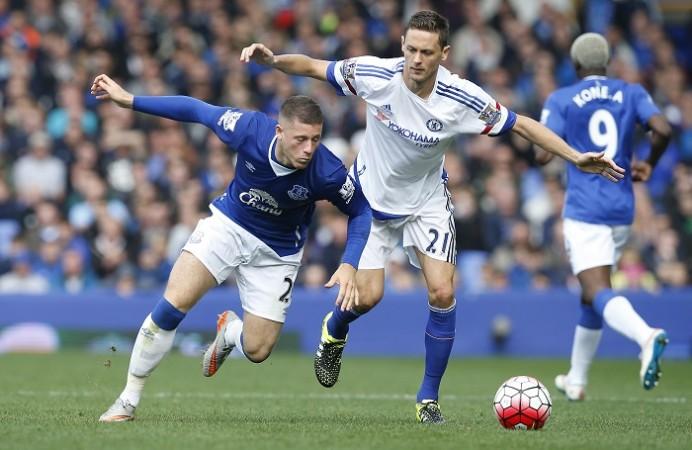 Ross Barkley Everton Nemanja Matic Chelsea