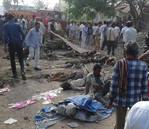 Jhabua blasts explosion