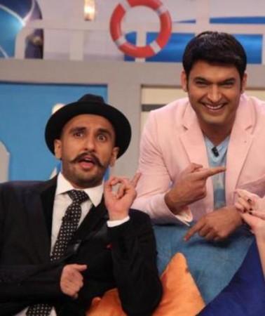 Kapil Sharma and Ranveer Singh