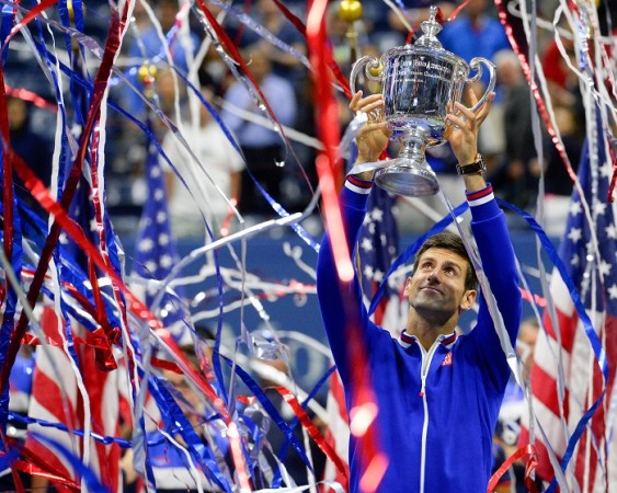Novak Djokovic US Open 2015 Trophy Final