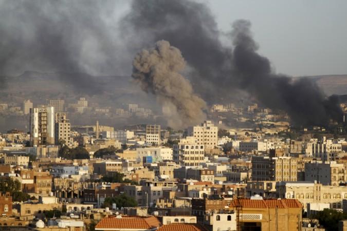 yemen air strikes indian stranded