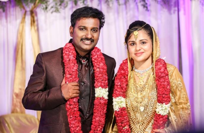 Najim Arshad Marries Thazni Thaha