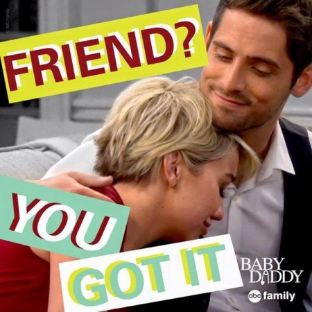 Ben and Riley in 'Baby Daddy'