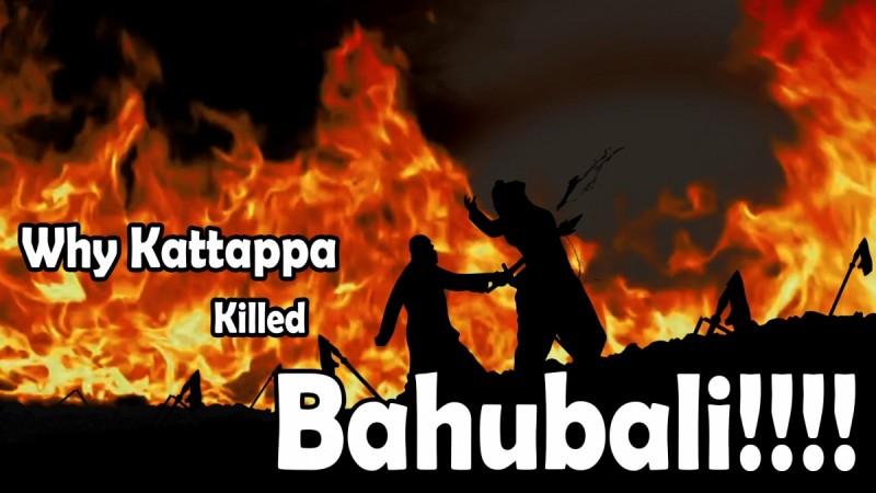 Kattappa killing Baahubali