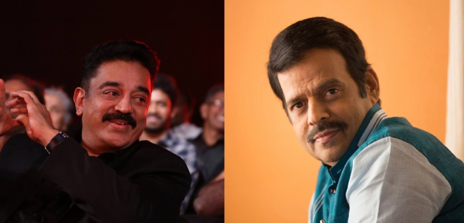 Kamal Haasan and Balachandra Menon
