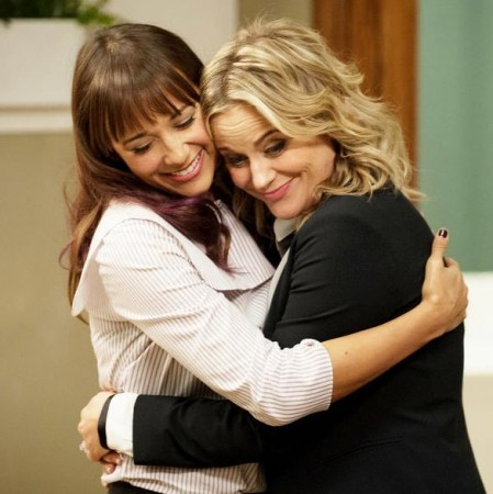 Leslie Knope and Ann Perkins from 'Parks and Recreation'