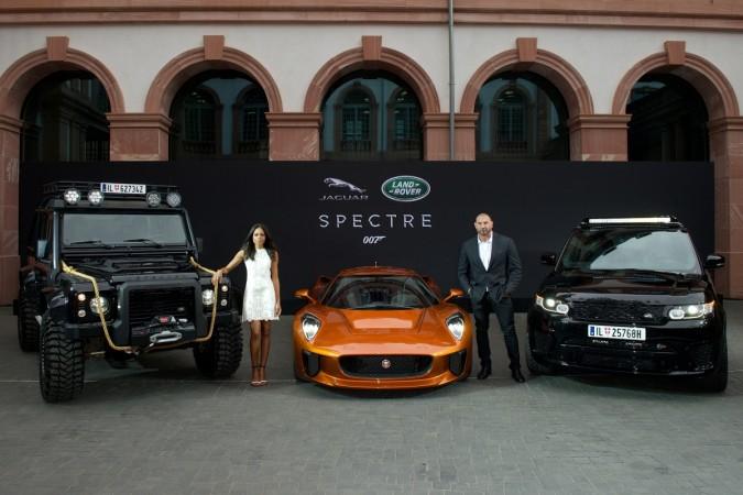 JLR Bond villain cars