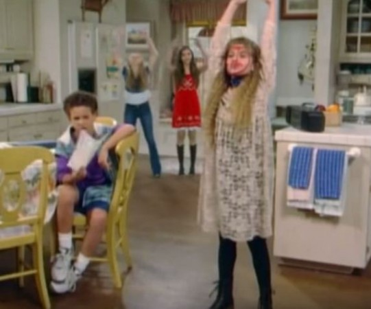 Maya, RIley, Cory and Topanga