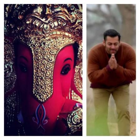 Salman Khan brings Ganpati Bappa home