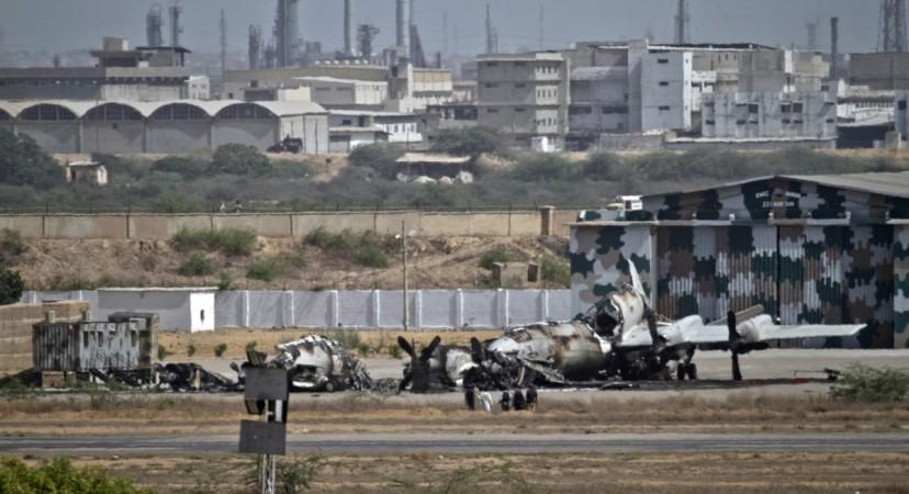 militants attack on Peshawar Air Force Camp Badaber