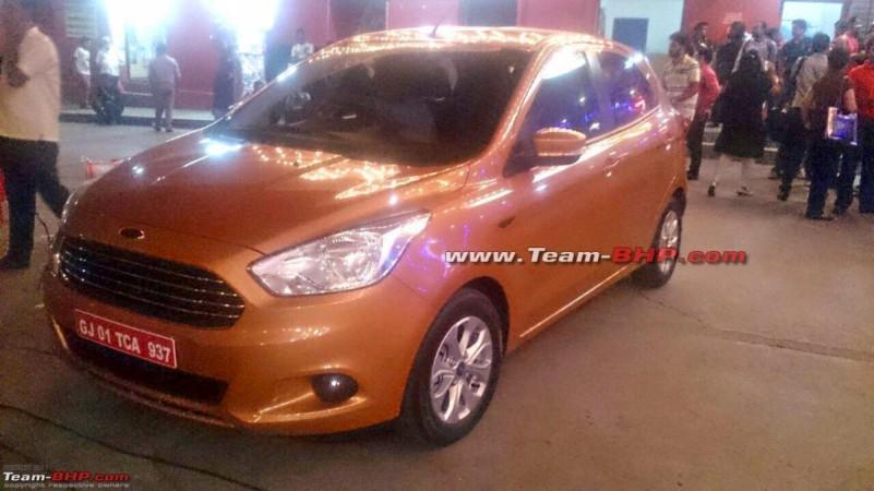 2015 Ford Figo hatchback interiors revealed