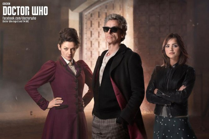 Main cast of 'Doctor Who'