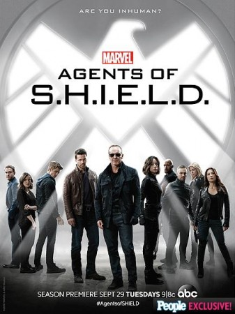Marvel's Agents of SHIELD 'Inhuman' promotional poster