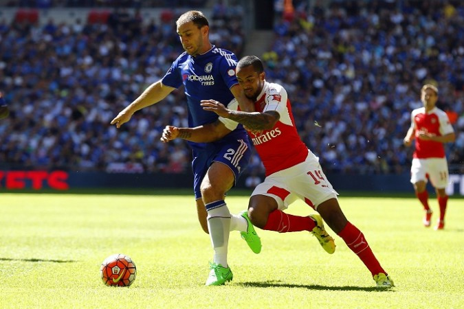 Branislav Ivanovic Chelsea Theo Walcott Arsenal