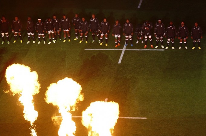 Fireworks 2015 Rugby World Cup