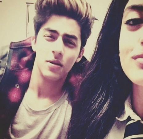 Aryan Khan And Navya Shah Rukh Khan's son A...