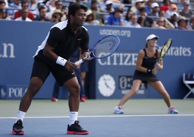 Leander Paes Martina Hingis US Open 2015