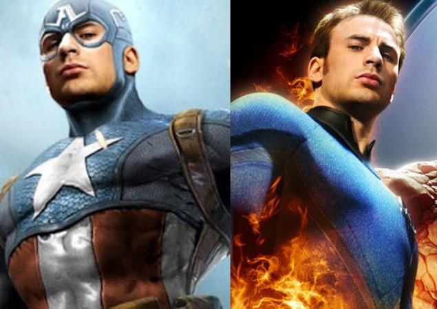 Captain America/Human Torch