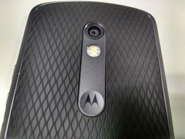 Moto X Play Rear Camera