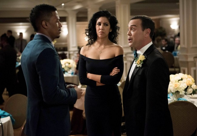 Marcus, Rosa and Charles at the Boyle-Linetti wedding