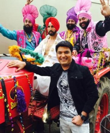 Akshay Kumar promote 'Singh Is Bliing' on 'Comedy Nights With Kapil'