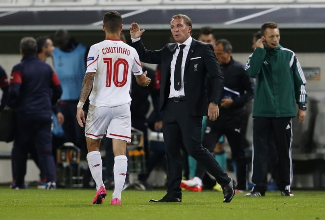 Coutinho and Brendan Rodgers
