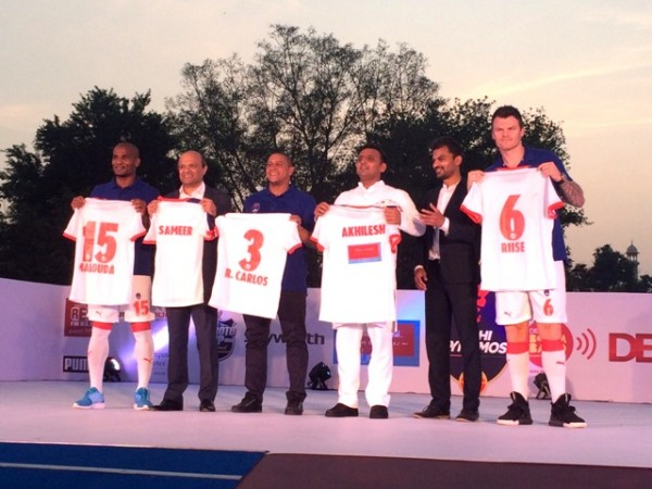 Delhi Dynamos kit launch