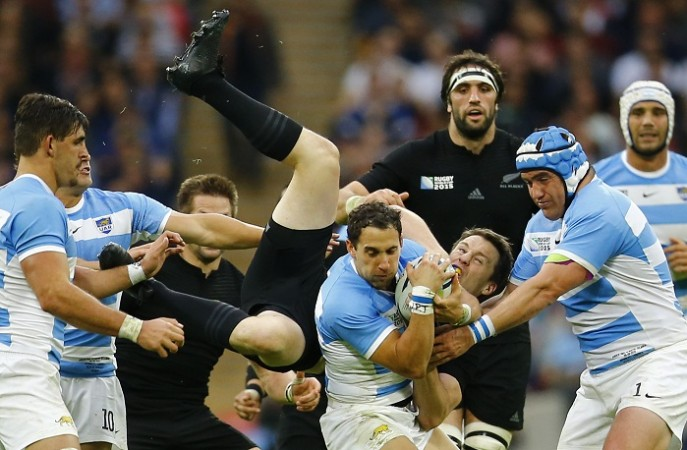 New Zealand Argentina 2015 Rugby World Cup