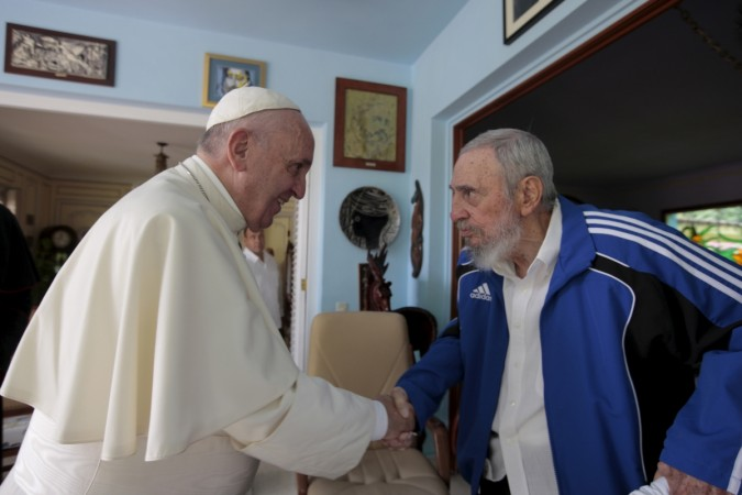 [Representational Image] Cuba: Pope Francis meets Fidel Castro during visit to communist country