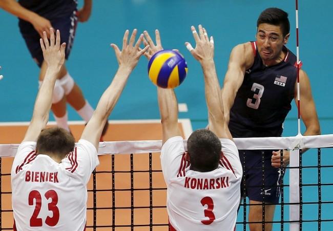 USA Poland Volleyball