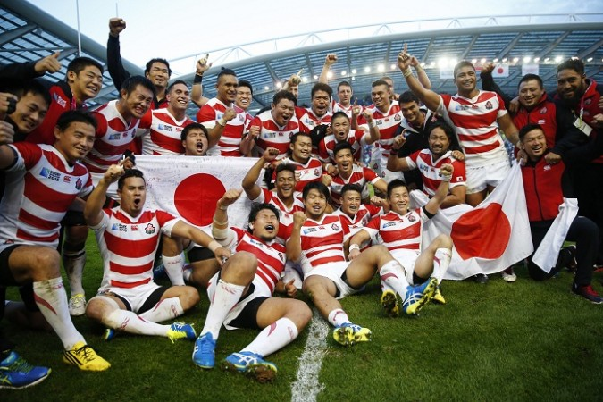 Japan South Africa 2015 Rugby World Cup