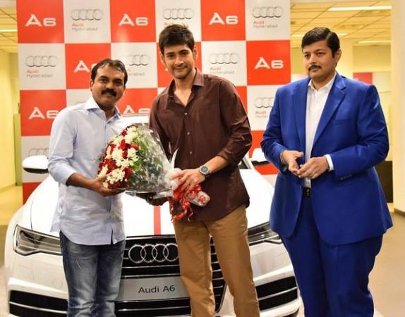 Mahesh Babu gifts Audi A6 to director Koratala Siva