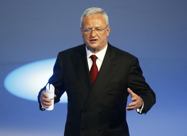Volkswagen CEO Martin Winterkorn