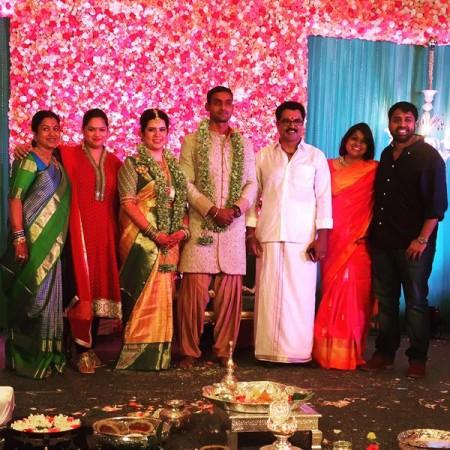 Raadhika Sarathkumar's Daughter Engagement