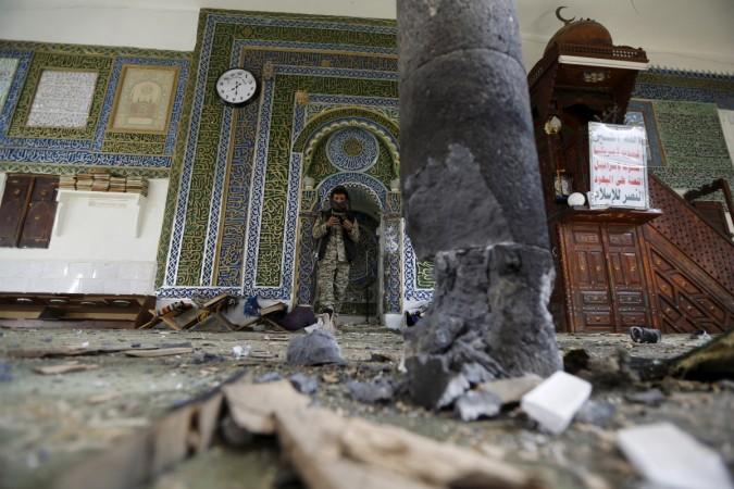 Yemen mosque bombing