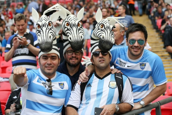 Argentina Fans 2015 Rugby World Cup