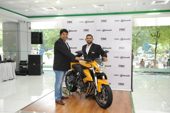 DSK Benelli TNT 600i Limited Edition