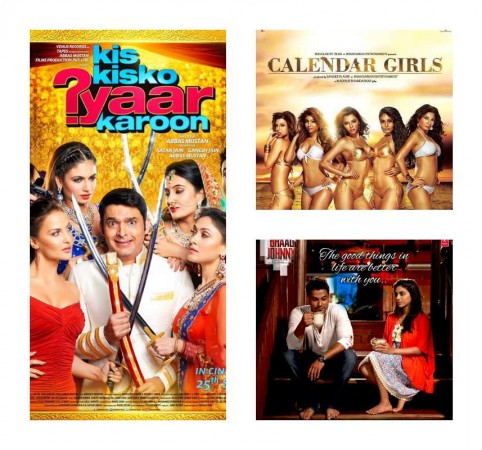'Kis Kisko Pyaar Karoon', 'Calendar Girls', 'Bhaag Johnny'-- Which one you liked the most?