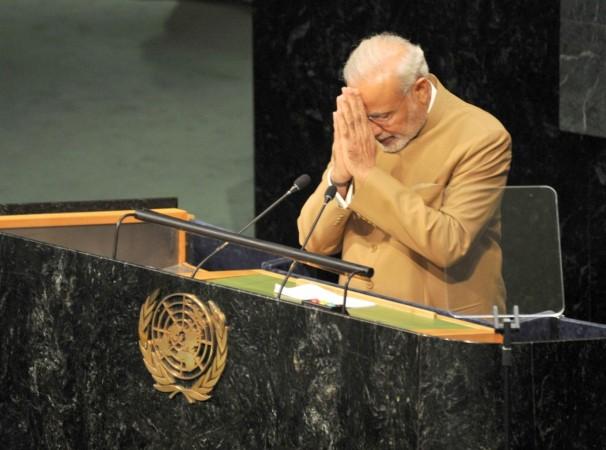 Modi UN speech