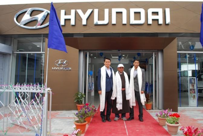 Hyundai sets up dealership in Leh