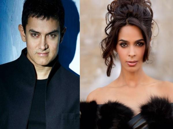 Aamir Khan and Mallika Sherawat