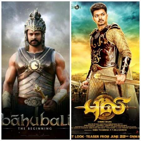 Is Vijay's 'Puli', the next 'Baahubali' of South India?