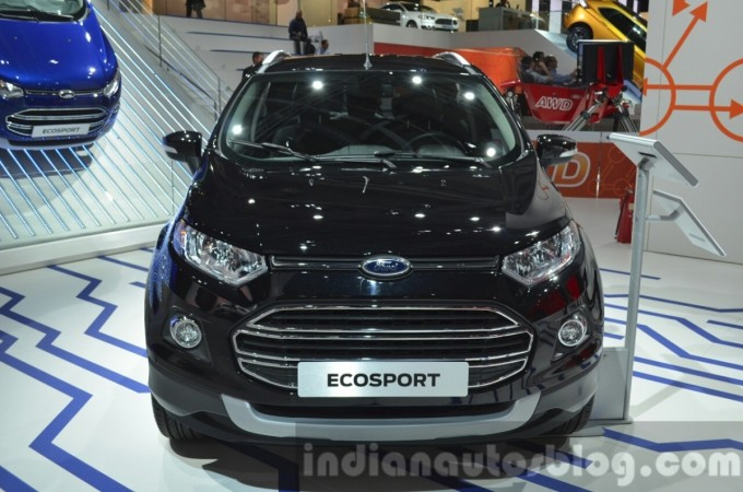 2016 Ford EcoSport Facelift India launch by 2015-end