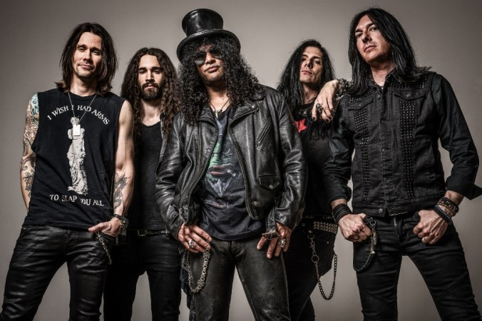 Slash India tour
