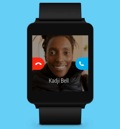 Microsoft brings Skype to Android Wear: Do more from your wrist