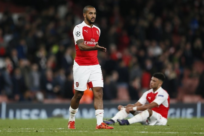 Theo Walcott Alex Oxlade-Chamberlain Arsenal